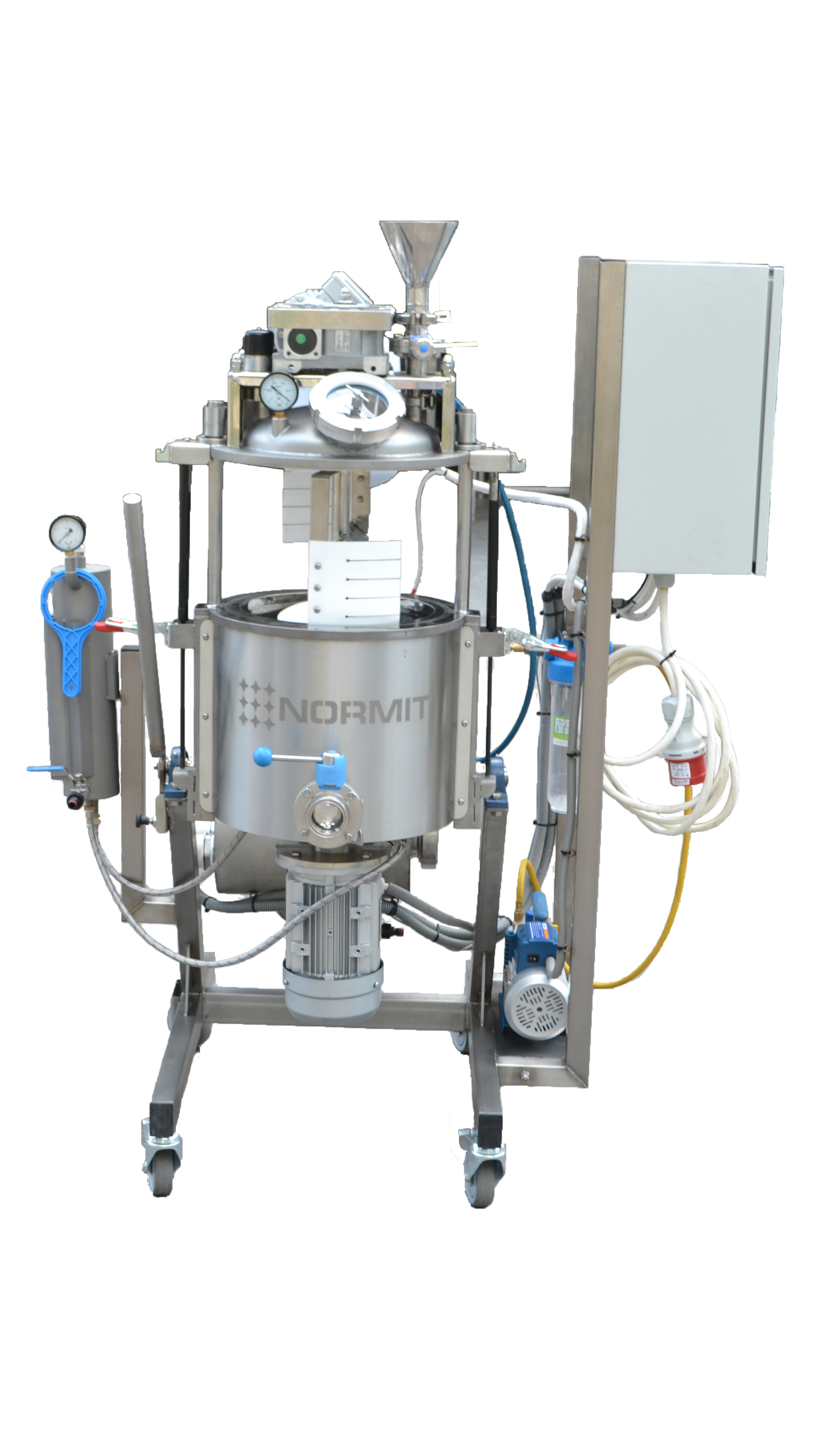 vacuum homogenizer for laboratory tests