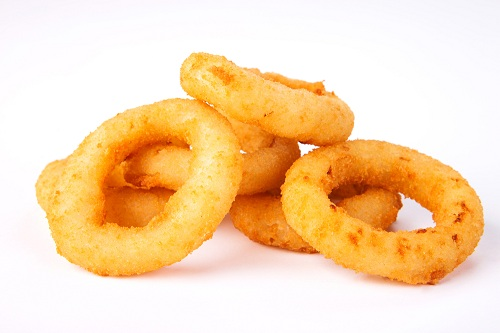 onion ring frying machine, continuous fryer