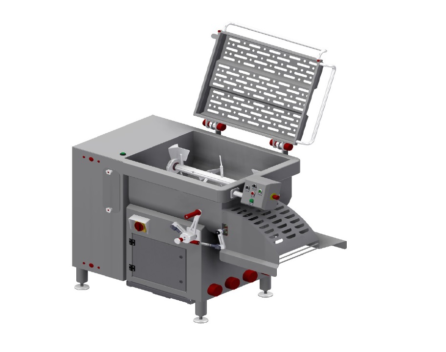 meat processing mixer