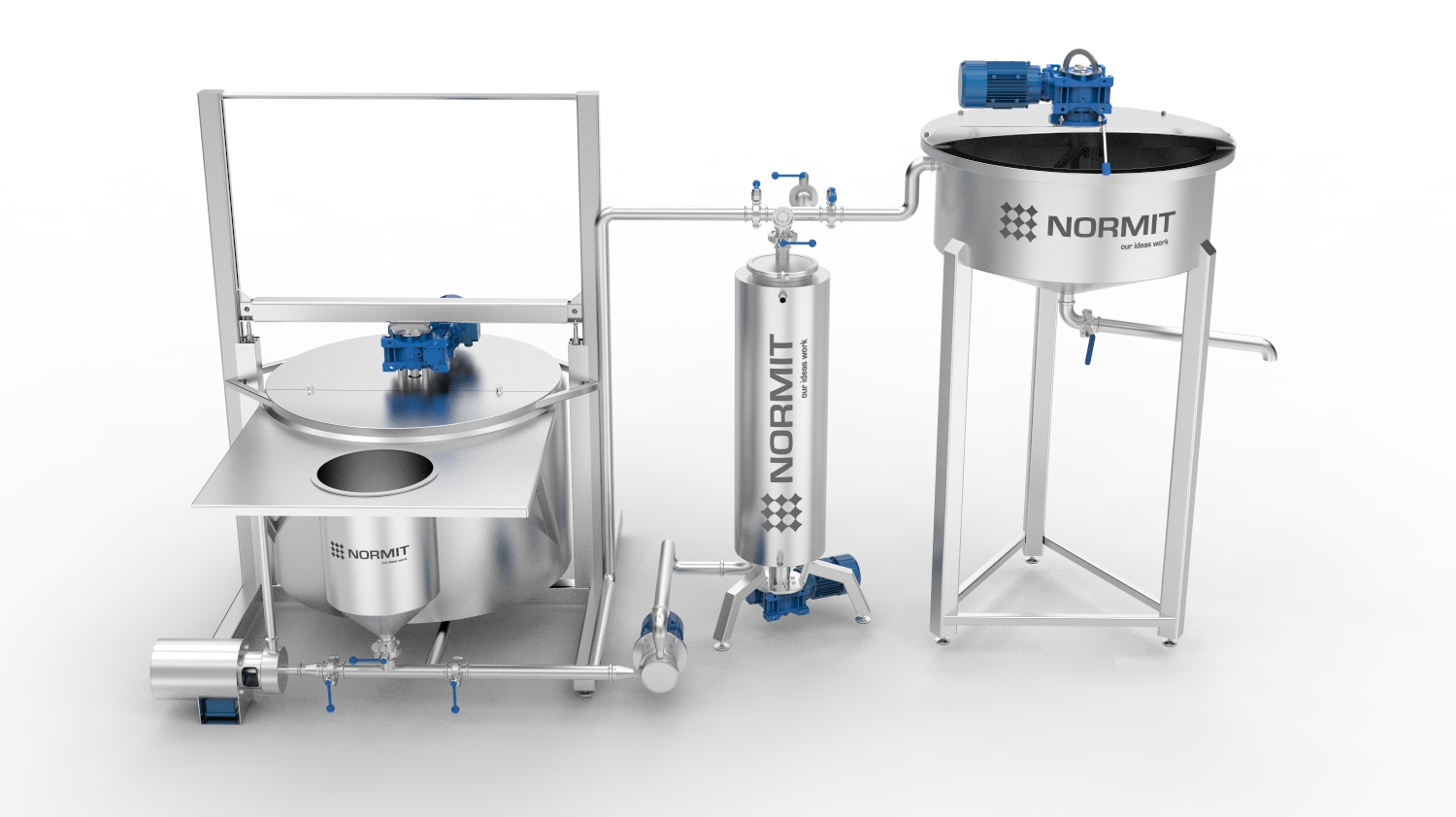 Ketchup production line - NORMIT | yogurt production line