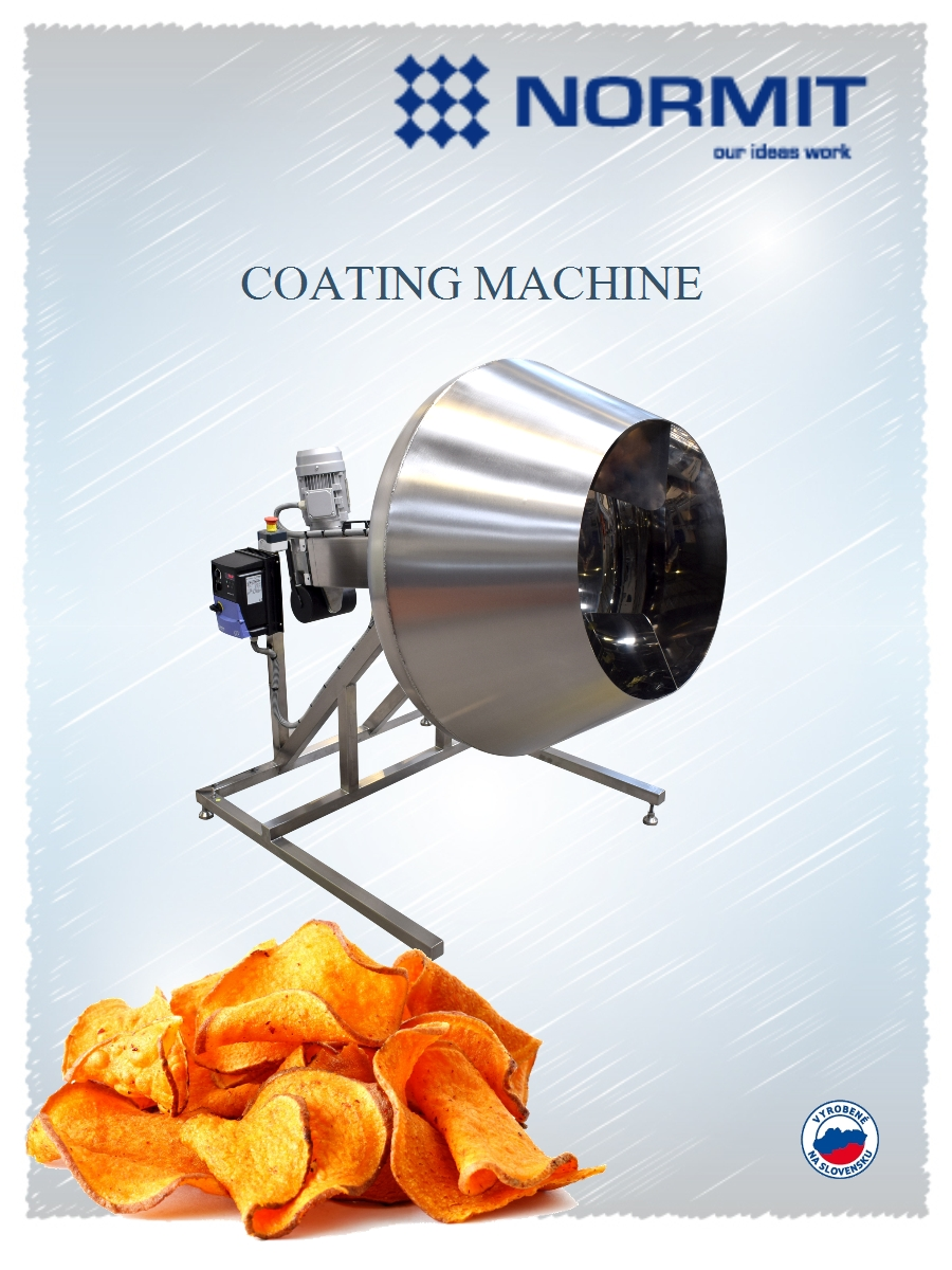 chips salting machine