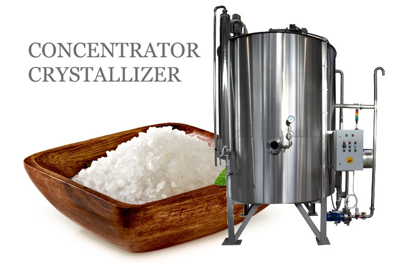 CONCENTRATOR | Evaporation Machine | Crystallizer EcoSo 6000