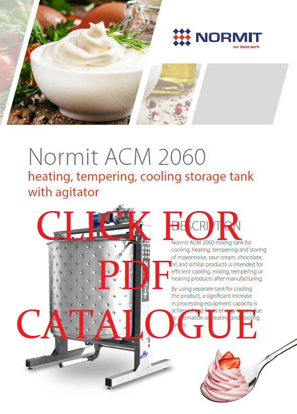 Mixing vessel | Mixing tank | Storage mixing tank ACM 2060 catalog