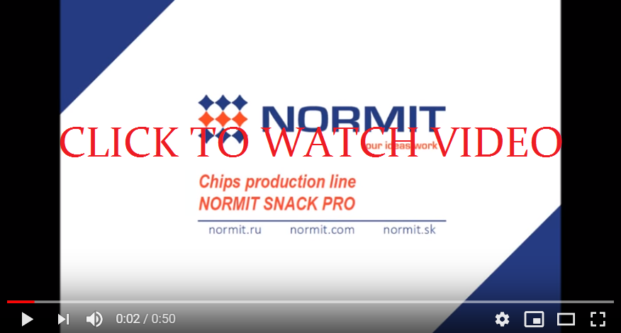 Continuous  fryer SnackPro | Deep fat fryer | Industrial continuous fryer video