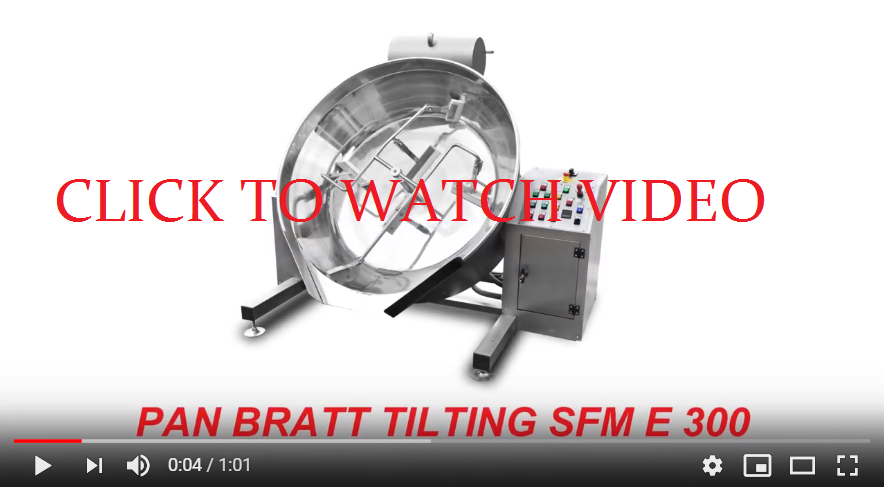 Tilting bratt pan with stirrer NORMIT