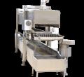 Continuous fryer | Chicken nuggets machine