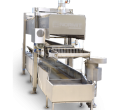 Continuous fryer | Chicken nuggets machine