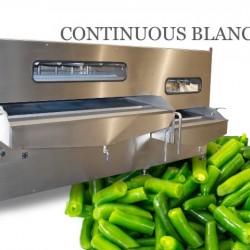 Conveyor heat treatment