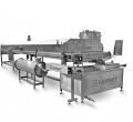 Industrial continuous fryer Pour Oil