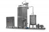 Vacuum spray dryer for drying oil