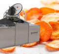 Vacuum fryer carrot chips